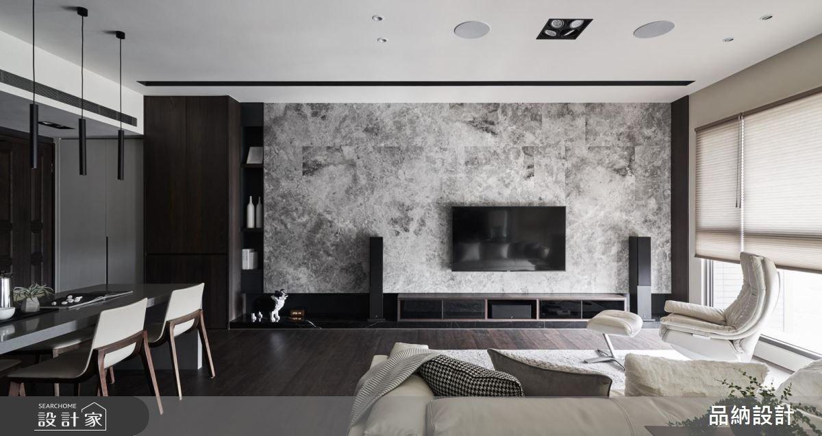 50坪新成屋(5年以下)_現代風客廳案例圖片_卡納文創/品納設計_品納_33之2