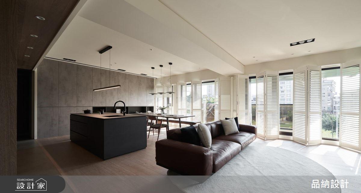 45坪新成屋(5年以下)_現代風客廳案例圖片_卡納文創/品納設計_品納_34之4