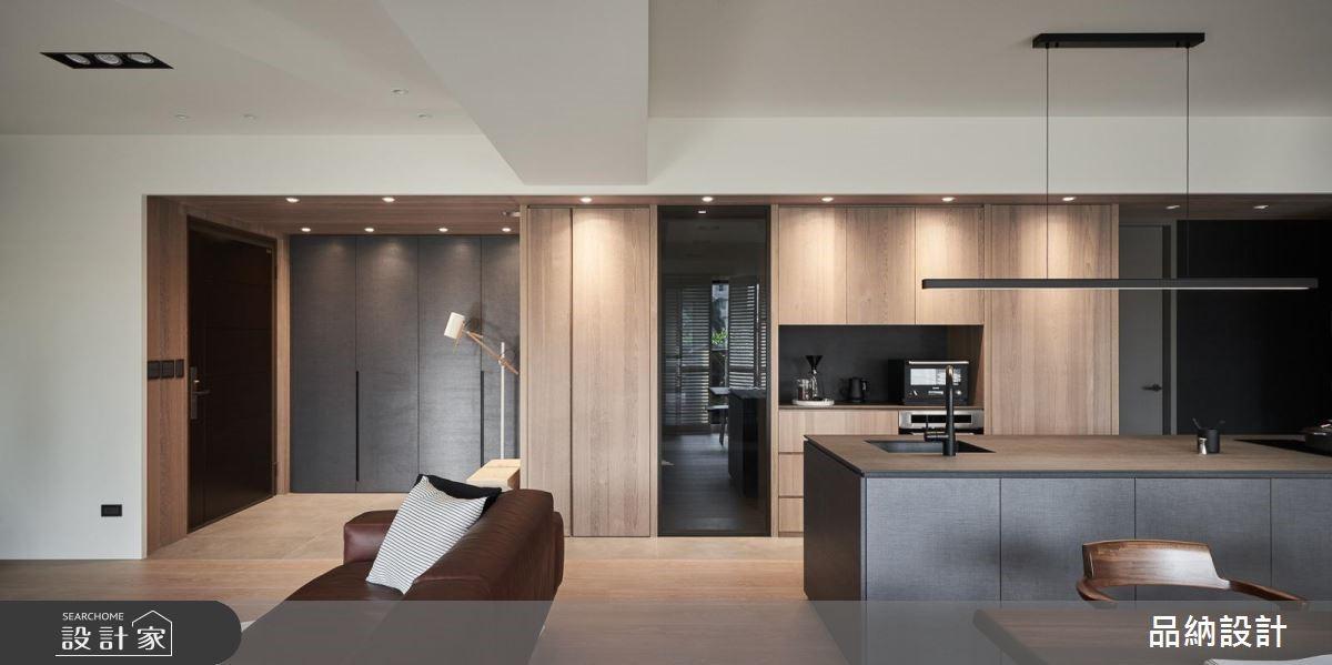 45坪新成屋(5年以下)_現代風玄關案例圖片_卡納文創/品納設計_品納_34之2