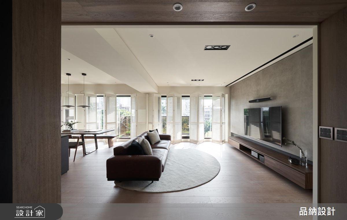 45坪新成屋(5年以下)_現代風客廳案例圖片_卡納文創/品納設計_品納_34之3