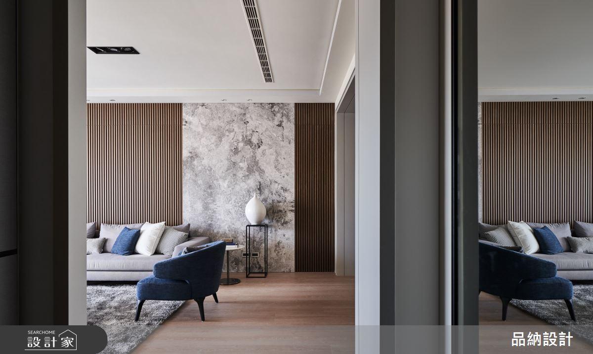 40坪新成屋(5年以下)_現代風玄關客廳案例圖片_卡納文創/品納設計_品納_36之2