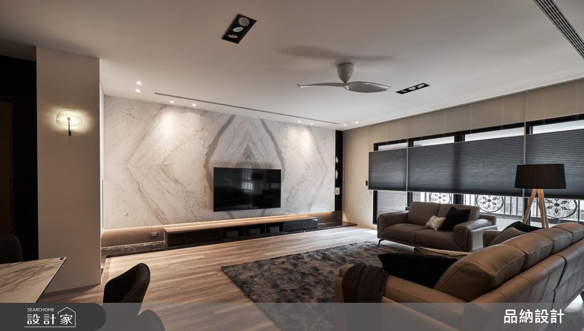 50坪新成屋(5年以下)_現代風客廳案例圖片_卡納文創/品納設計_品納_39之1