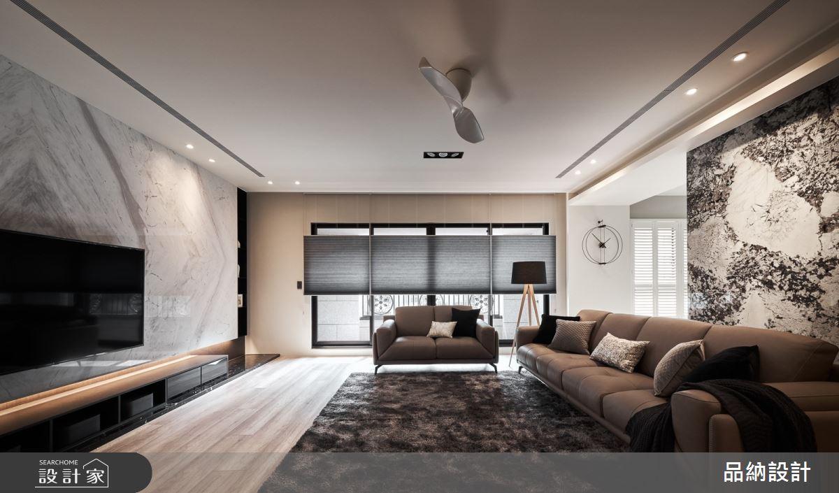 50坪新成屋(5年以下)_現代風客廳案例圖片_卡納文創/品納設計_品納_39之3