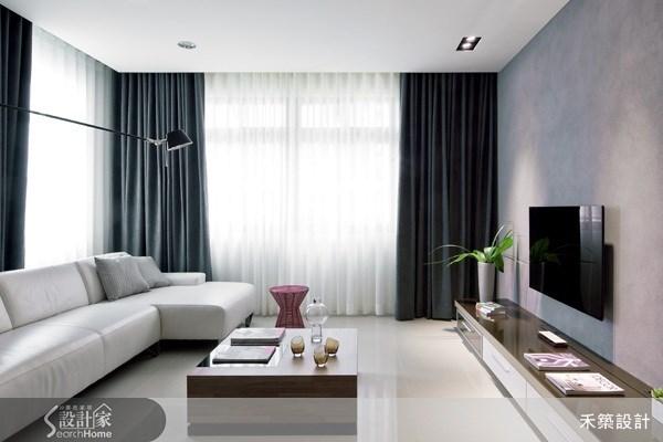 37坪新成屋(5年以下)_北歐風客廳案例圖片_禾築國際設計_禾築_14之4