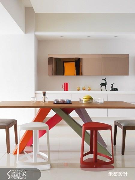 40坪新成屋(5年以下)_北歐風餐廳案例圖片_禾築國際設計_禾築_19之10