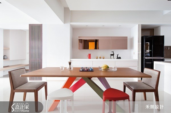 40坪新成屋(5年以下)_北歐風餐廳案例圖片_禾築國際設計_禾築_19之11