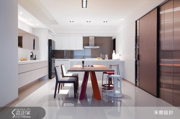 40坪新成屋(5年以下)_北歐風餐廳案例圖片_禾築國際設計_禾築_19之14