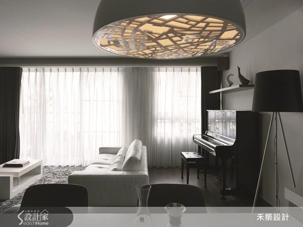 35坪新成屋(5年以下)_北歐風客廳案例圖片_禾築國際設計_禾築_26之4