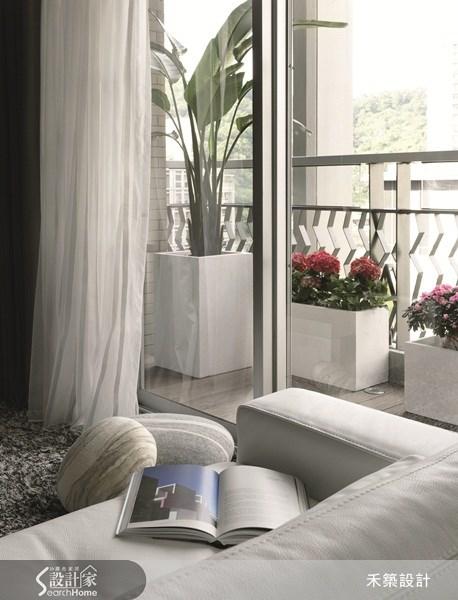 35坪新成屋(5年以下)_北歐風客廳案例圖片_禾築國際設計_禾築_26之7