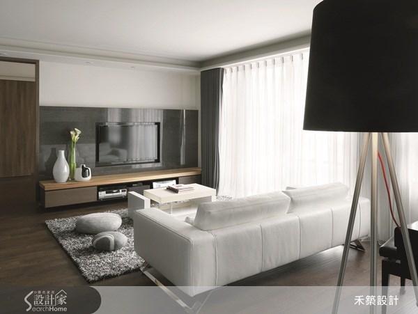 35坪新成屋(5年以下)_北歐風客廳案例圖片_禾築國際設計_禾築_26之5