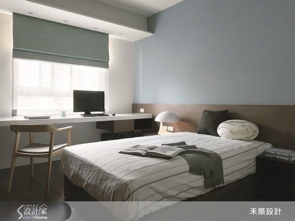 35坪新成屋(5年以下)_北歐風臥室案例圖片_禾築國際設計_禾築_26之19