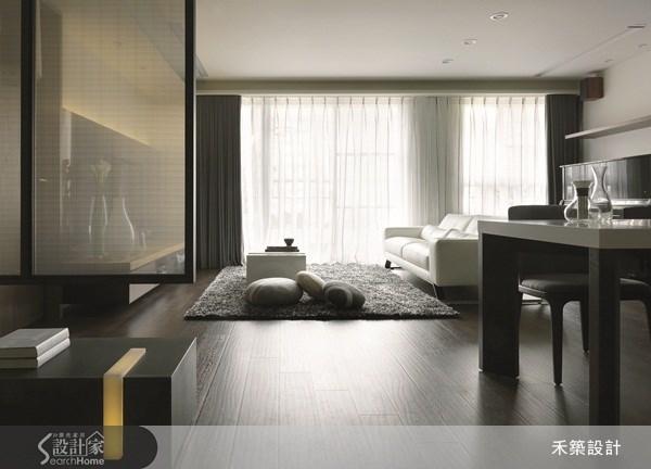 35坪新成屋(5年以下)_北歐風客廳案例圖片_禾築國際設計_禾築_26之9