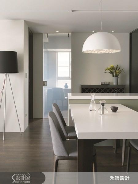 35坪新成屋(5年以下)_北歐風餐廳案例圖片_禾築國際設計_禾築_26之12