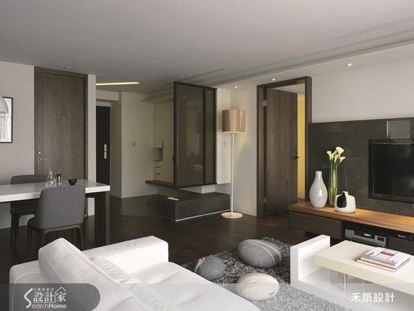 35坪新成屋(5年以下)_北歐風客廳案例圖片_禾築國際設計_禾築_26之6