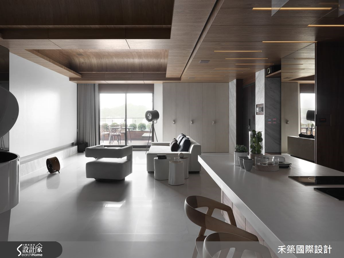 88坪新成屋(5年以下)_現代風客廳案例圖片_禾築國際設計_禾築_33之3