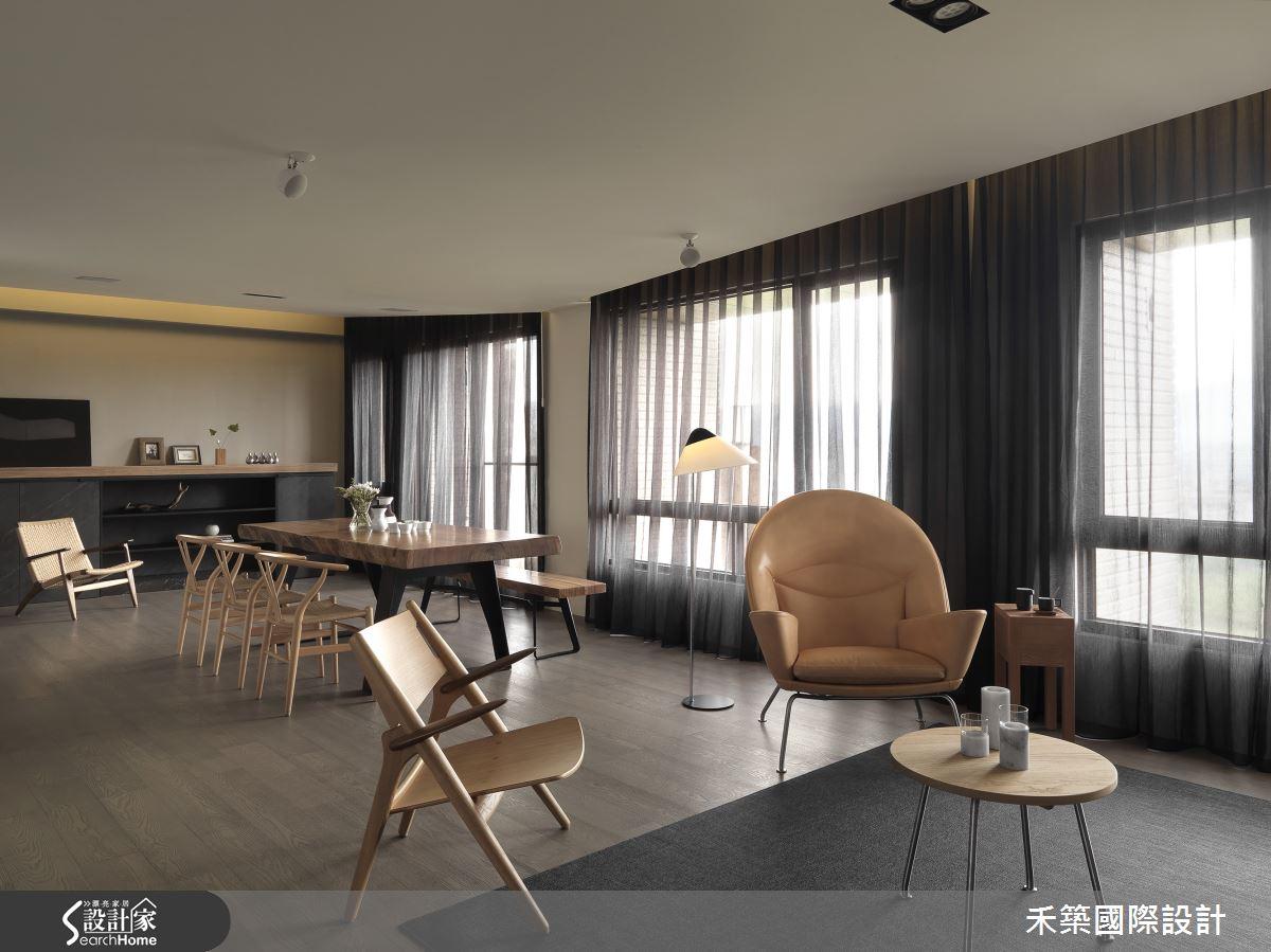 抓住眾人目光  現代風的舒適好宅 40坪打造 3房 2廳