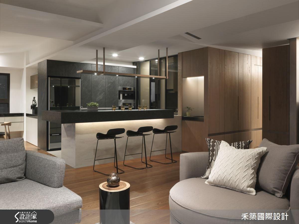 65坪新成屋(5年以下)_現代風客廳案例圖片_禾築國際設計_禾築_36之2