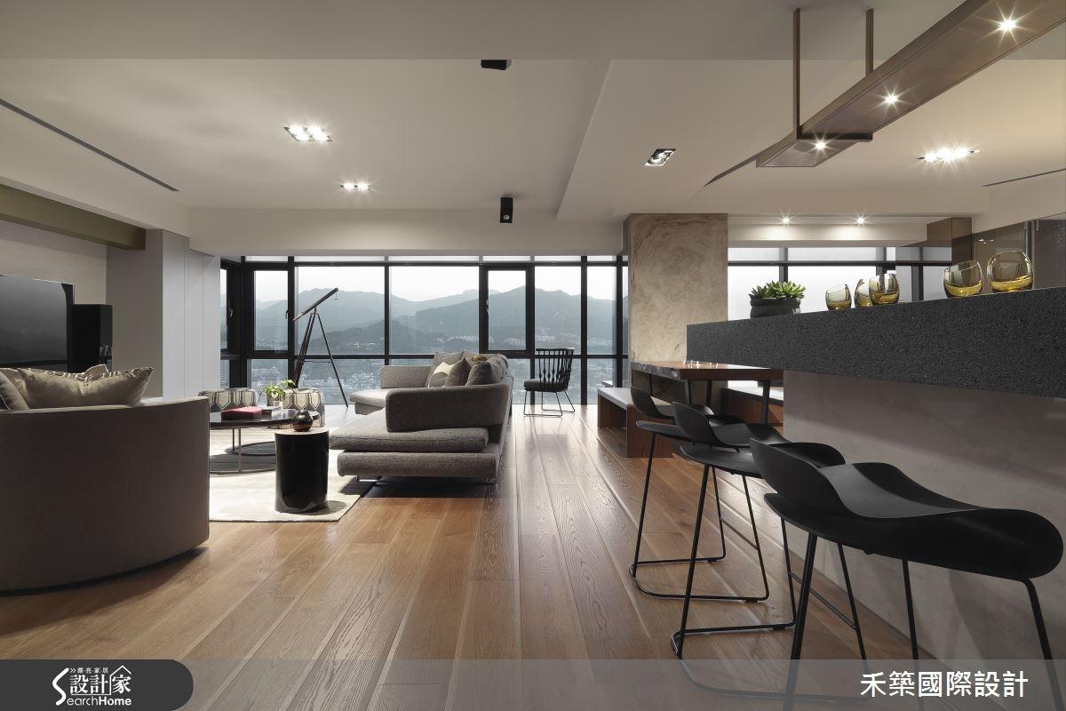 65坪新成屋(5年以下)_現代風吧檯案例圖片_禾築國際設計_禾築_36之3