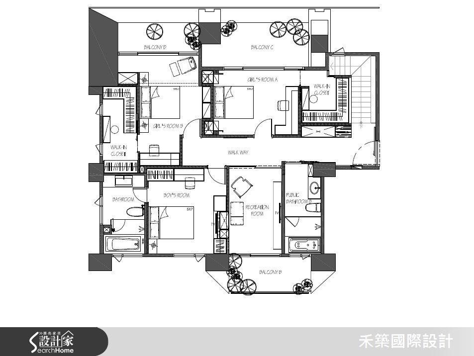 85坪新成屋(5年以下)_現代風案例圖片_禾築國際設計_禾築_39之70