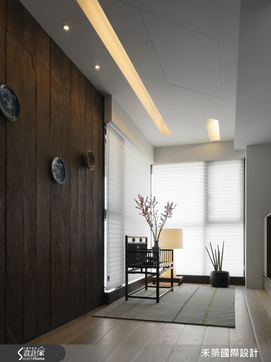 50坪新成屋(5年以下)_現代風玄關案例圖片_禾築國際設計_禾築_40之1