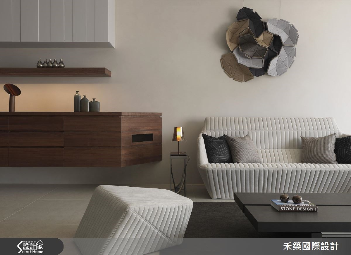 43坪_現代風客廳案例圖片_禾築國際設計_禾築_41之4