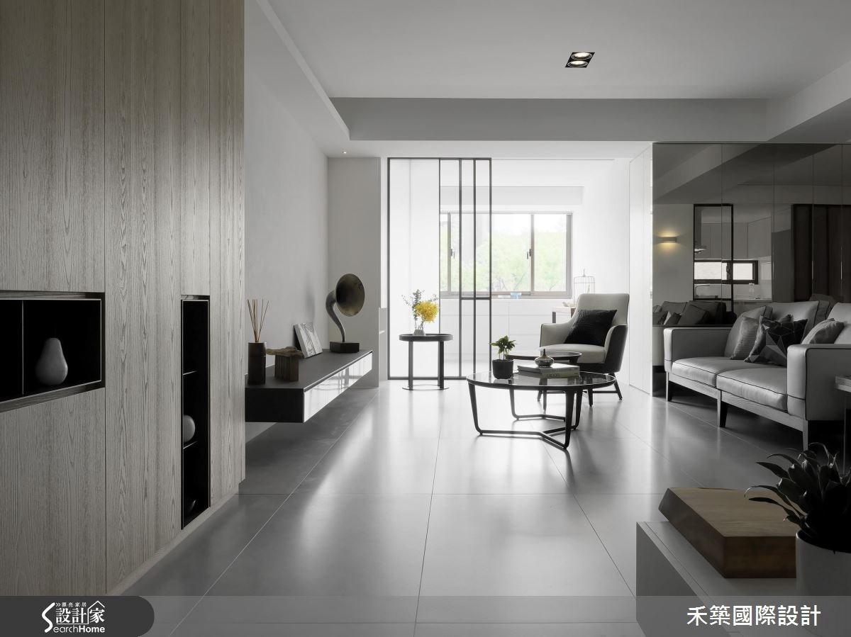 40坪_現代風客廳案例圖片_禾築國際設計_禾築_42之3