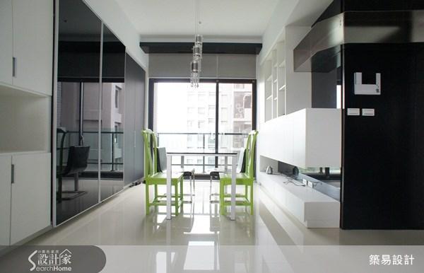 27坪新成屋(5年以下)_混搭風案例圖片_築易設計_築易_04之1