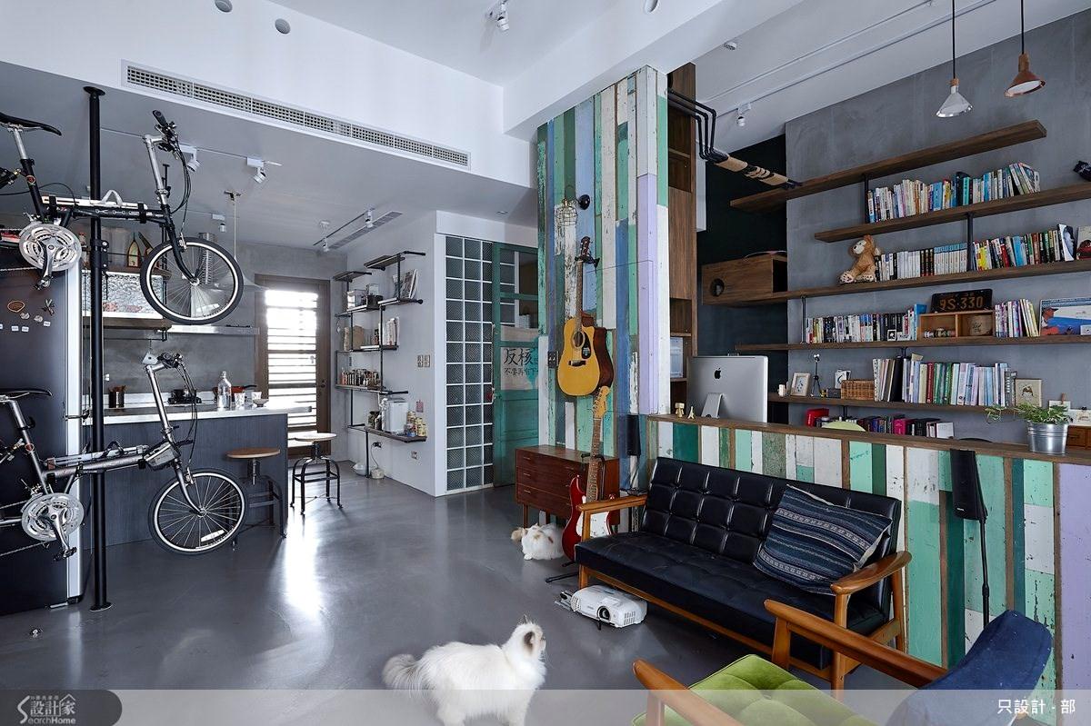 25坪新成屋(5年以下)_工業風案例圖片_只設計‧部_只設計_10之1