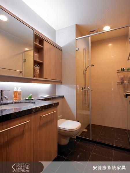 50坪新成屋(5年以下)_混搭風浴室案例圖片_安德康系統室內設計_安德康_02之16