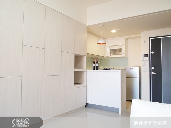 14坪新成屋(5年以下)_現代風玄關案例圖片_安德康系統室內設計_安德康_04之2