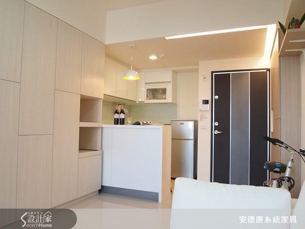 14坪新成屋(5年以下)_現代風玄關案例圖片_安德康系統室內設計_安德康_04之3