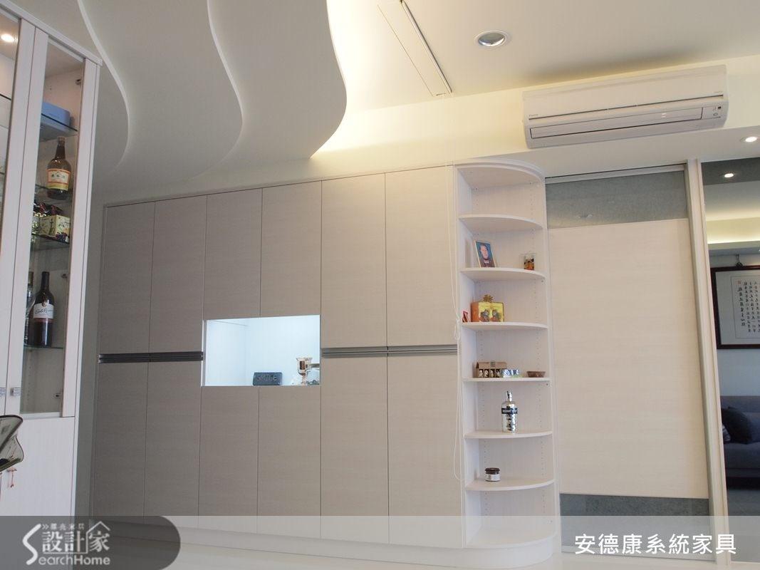 35坪新成屋(5年以下)_現代風玄關案例圖片_安德康系統室內設計_安德康_05之2
