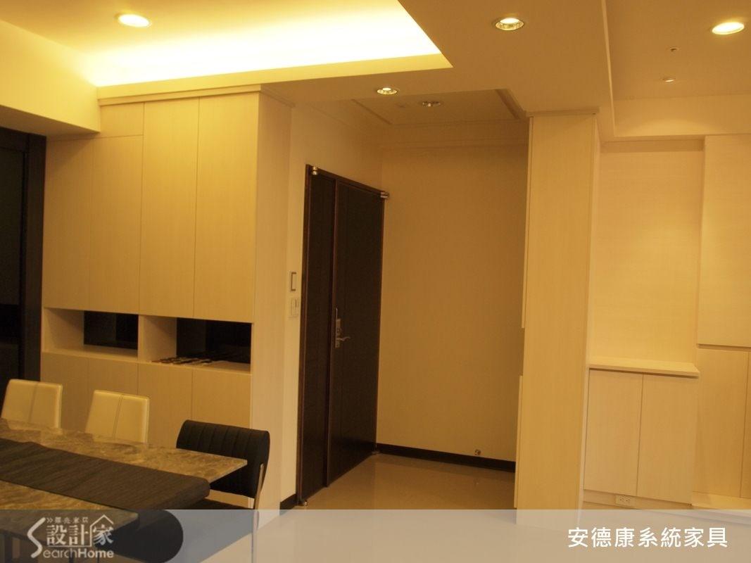 40坪新成屋(5年以下)_現代風餐廳案例圖片_安德康系統室內設計_安德康_10之1