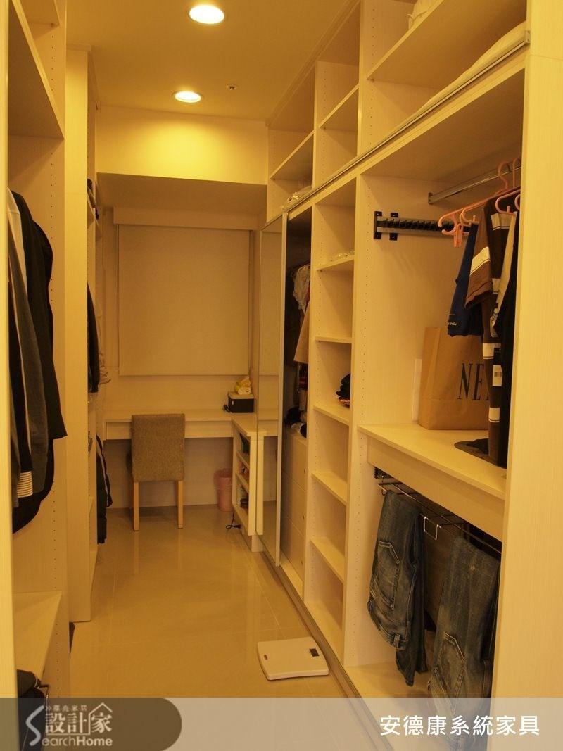 40坪新成屋(5年以下)_現代風更衣間案例圖片_安德康系統室內設計_安德康_10之9
