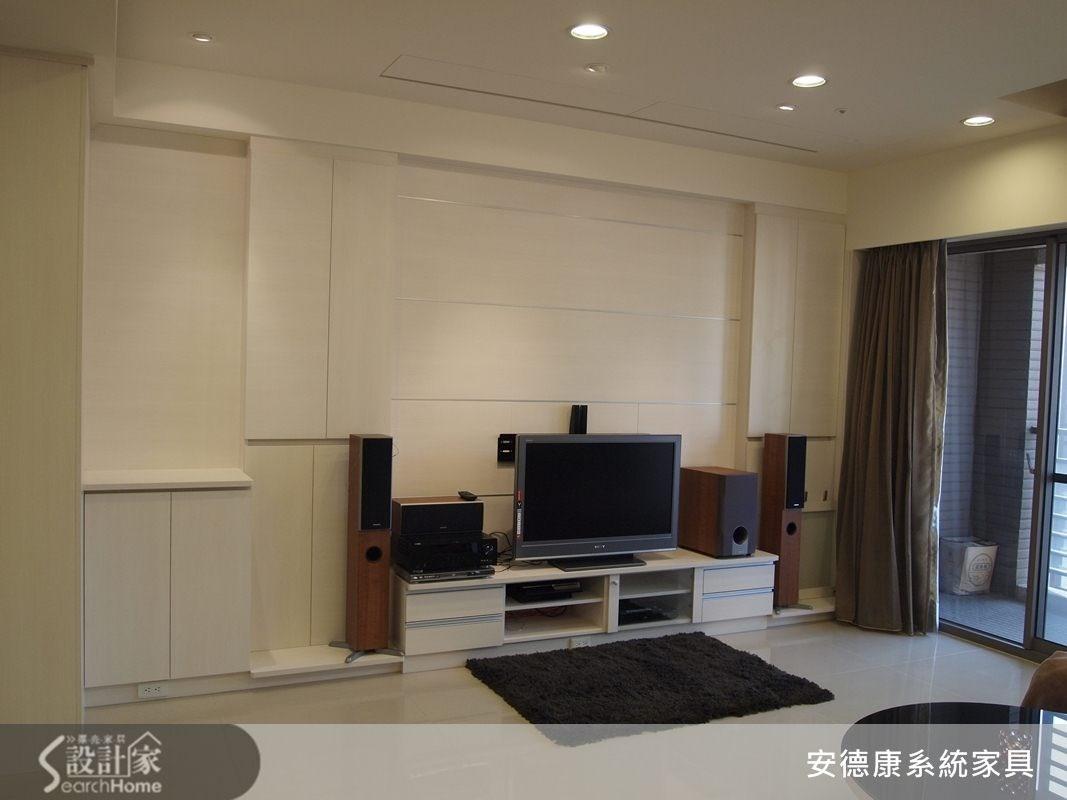 40坪新成屋(5年以下)_現代風客廳案例圖片_安德康系統室內設計_安德康_10之4