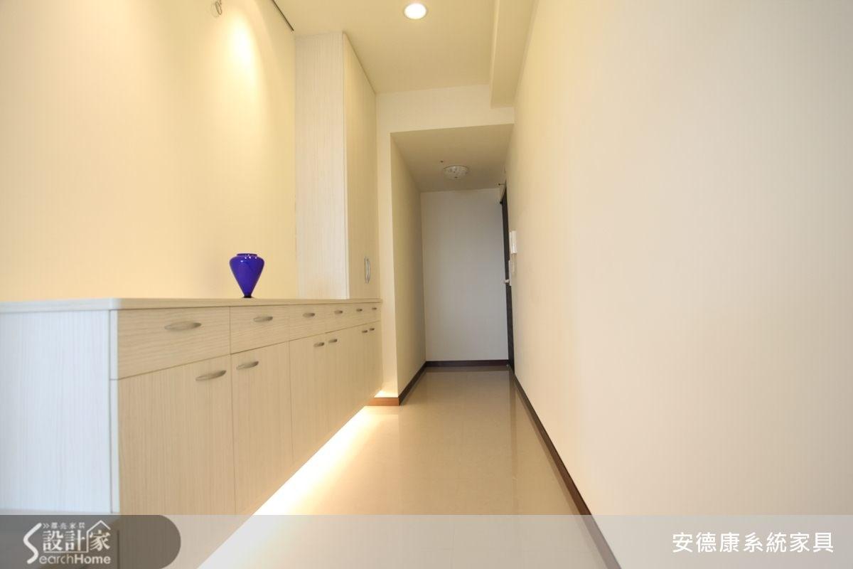 40坪新成屋(5年以下)_簡約風走廊案例圖片_安德康系統室內設計_安德康_11之2