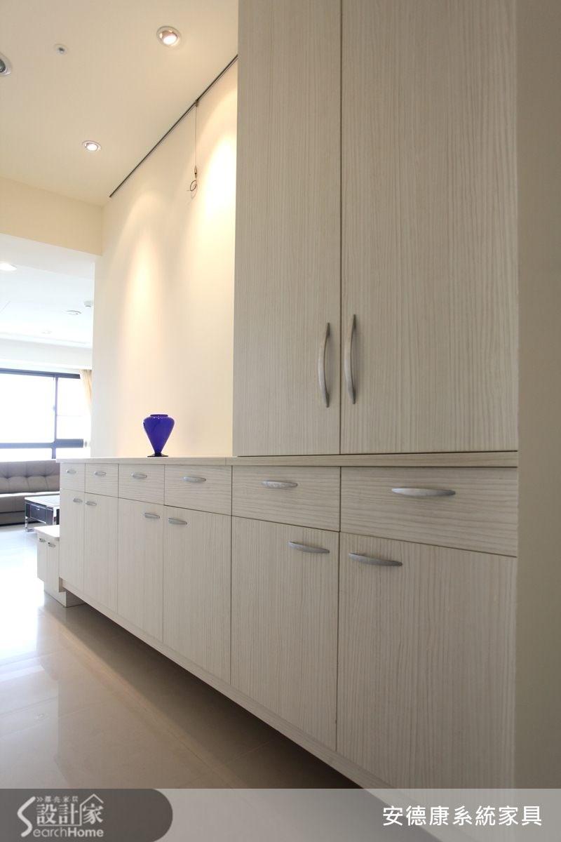 40坪新成屋(5年以下)_簡約風走廊案例圖片_安德康系統室內設計_安德康_11之1