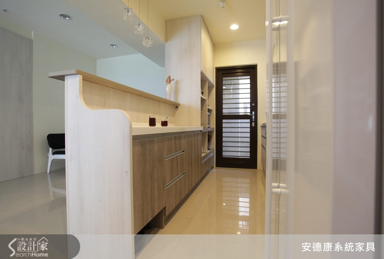 45坪新成屋(5年以下)_北歐風走廊案例圖片_安德康系統室內設計_安德康_12之3
