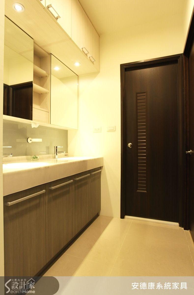 45坪新成屋(5年以下)_北歐風浴室案例圖片_安德康系統室內設計_安德康_12之12