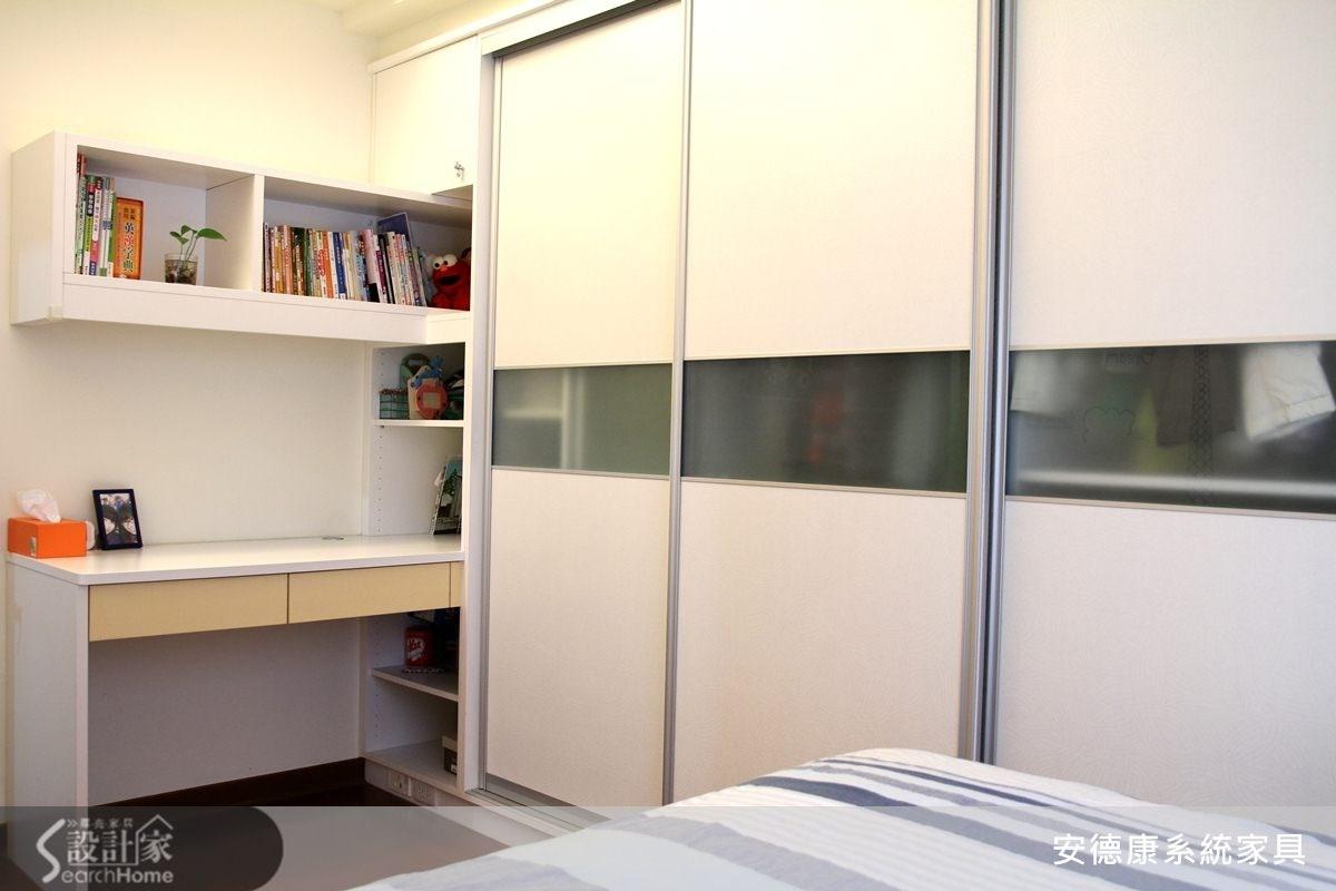 30坪中古屋(5~15年)_簡約風臥室案例圖片_安德康系統室內設計_安德康_14之9