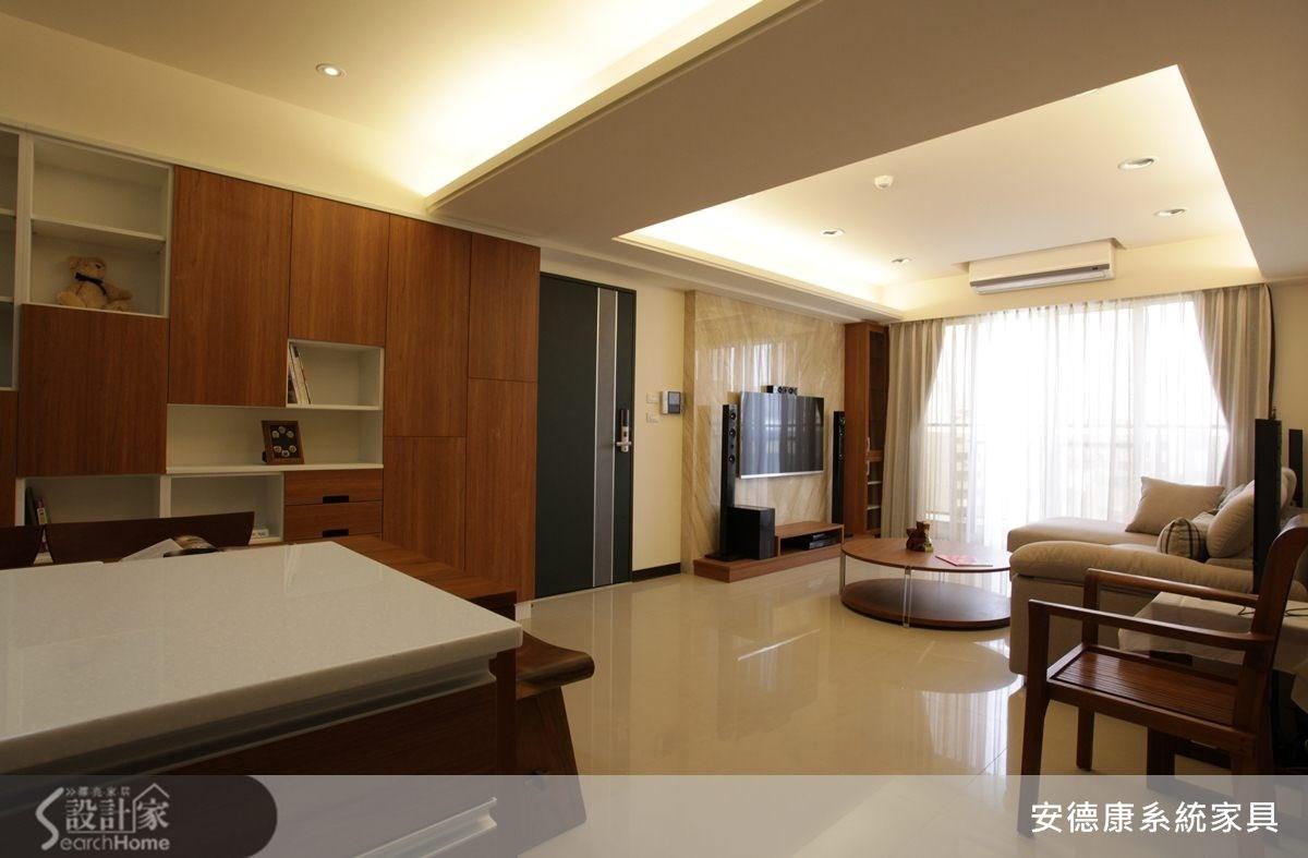 25坪新成屋(5年以下)_現代風餐廳案例圖片_安德康系統室內設計_安德康_15之3