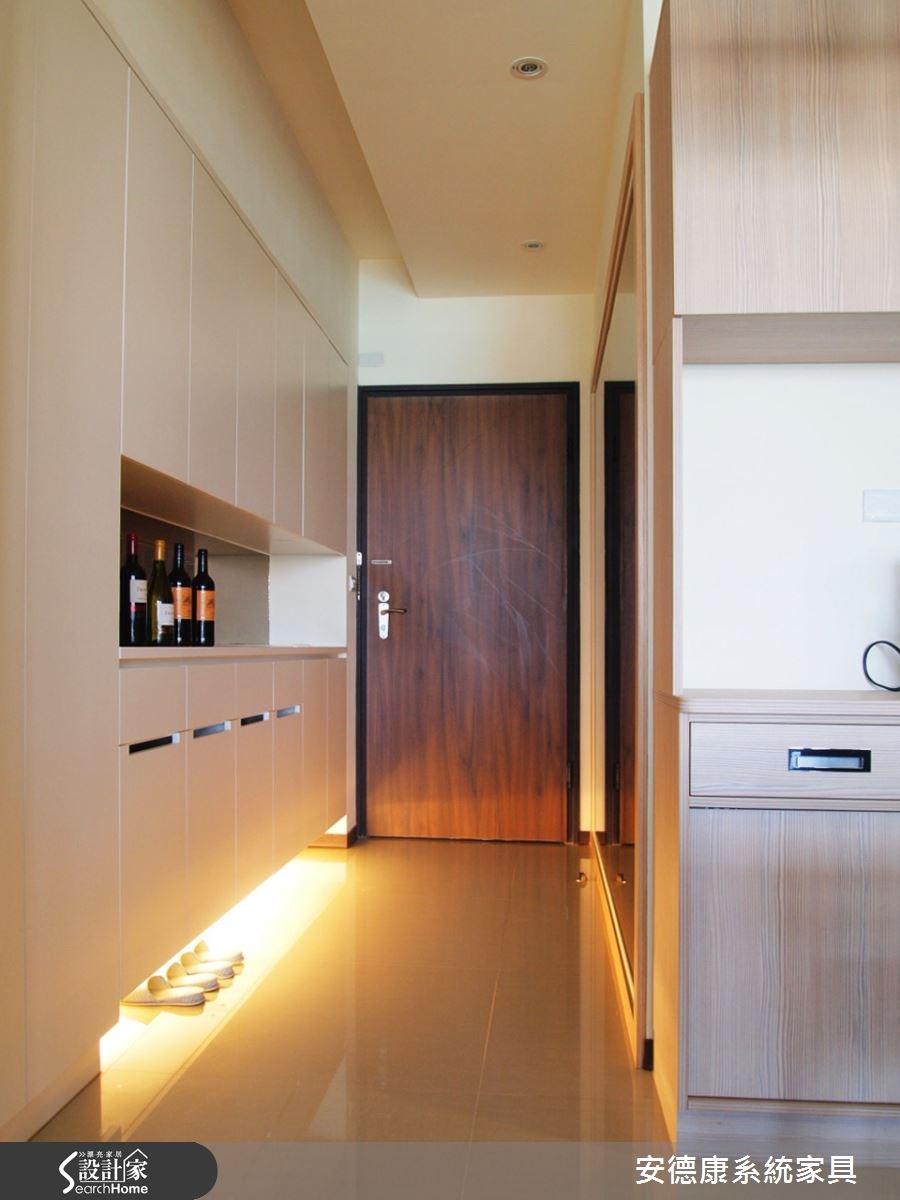 35坪新成屋(5年以下)_北歐風走廊案例圖片_安德康系統室內設計_安德康_16之1