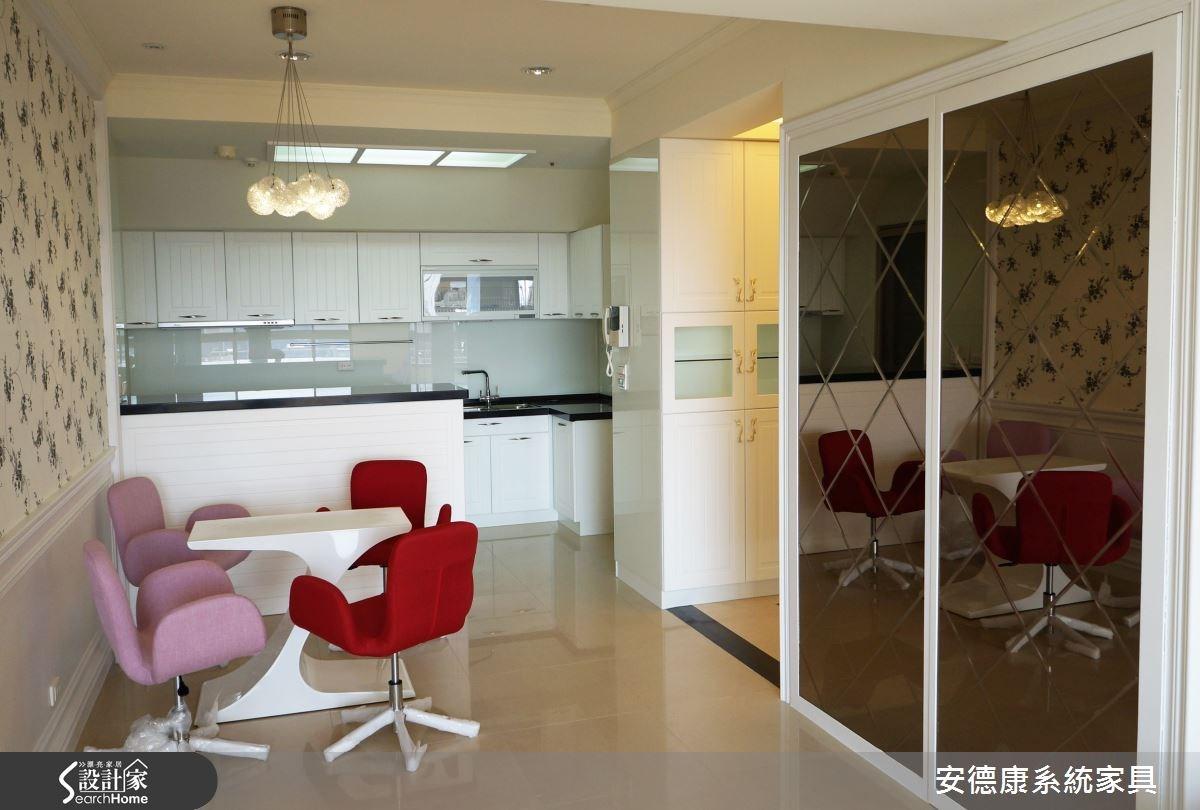 40坪中古屋(5~15年)_新古典餐廳案例圖片_安德康系統室內設計_安德康_19之5