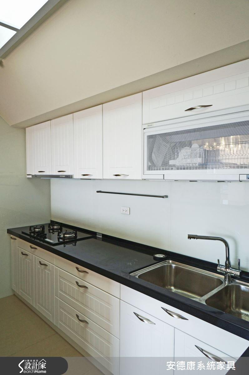 40坪中古屋(5~15年)_新古典廚房案例圖片_安德康系統室內設計_安德康_19之7