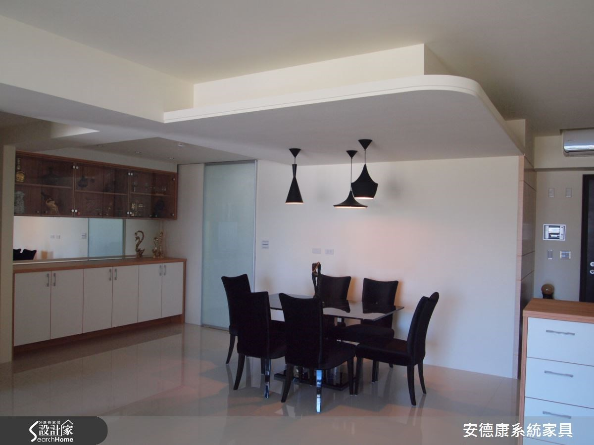48坪新成屋(5年以下)_簡約風餐廳案例圖片_安德康系統室內設計_安德康_20之1