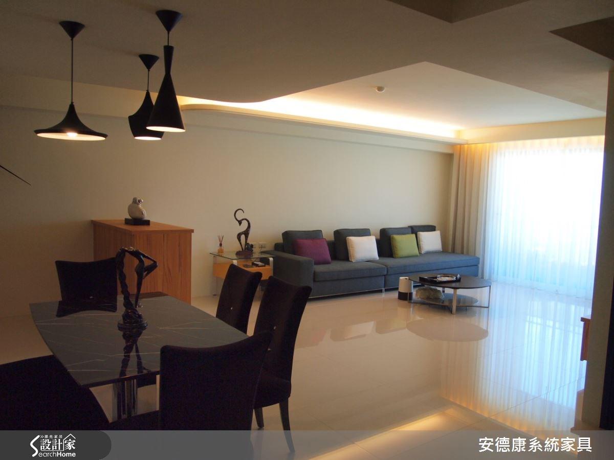 48坪新成屋(5年以下)_簡約風餐廳案例圖片_安德康系統室內設計_安德康_20之2