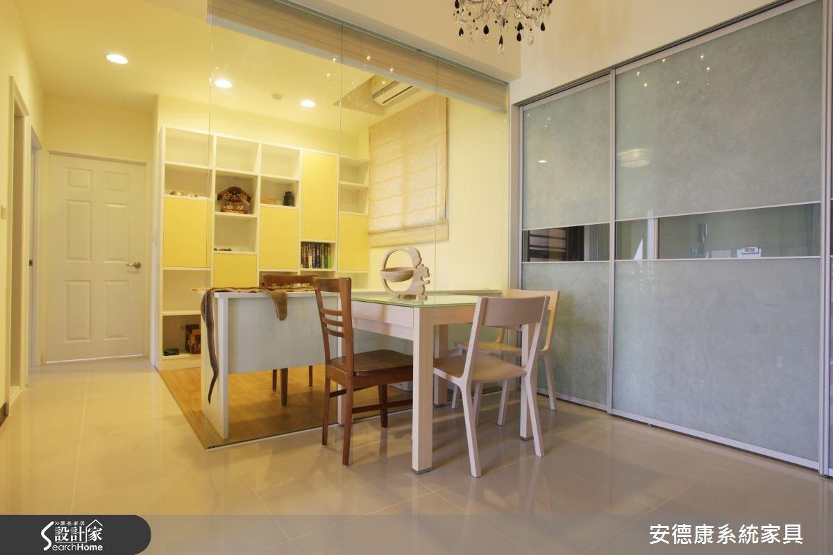 28坪新成屋(5年以下)_簡約風餐廳案例圖片_安德康系統室內設計_安德康_21之4