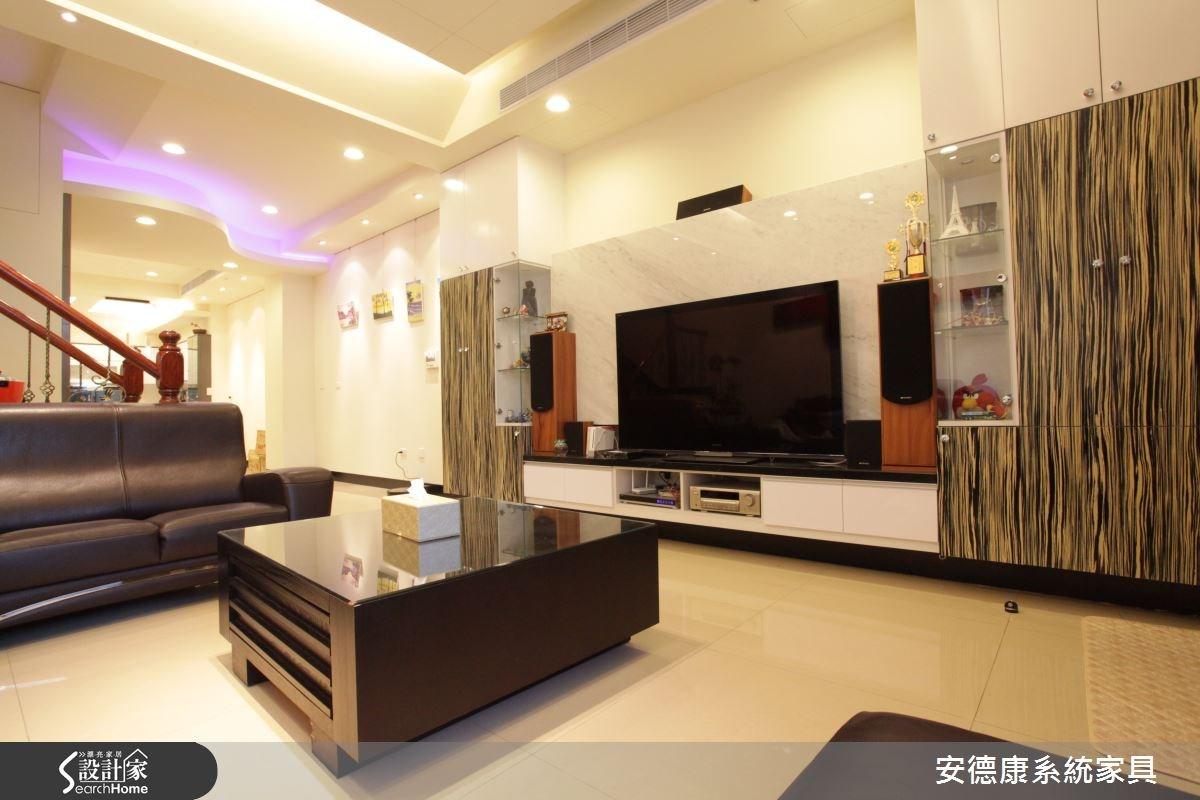 110坪新成屋(5年以下)_混搭風案例圖片_安德康系統室內設計_安德康_23之3