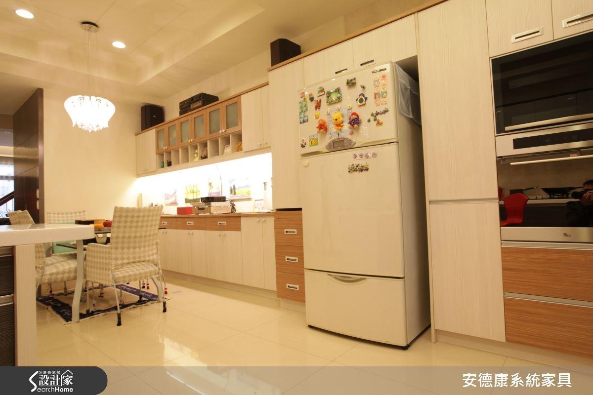 110坪新成屋(5年以下)_混搭風餐廳案例圖片_安德康系統室內設計_安德康_23之4