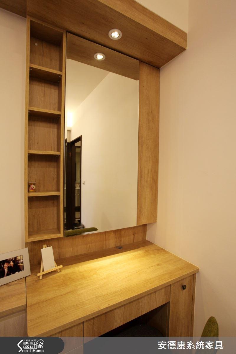 20坪新成屋(5年以下)_簡約風臥室案例圖片_安德康系統室內設計_安德康_24之25